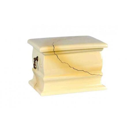 Magnolia Granite Composite Casket Shape Funeral Cremation Ashes Urn for Adult (518)