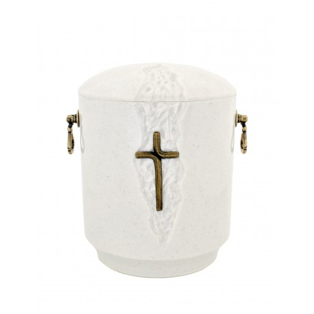 Catholic Composite Funeral Cremation Ashes Urn for Adult (901)