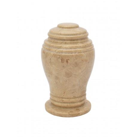 Mini Keepsake Botticino Marble Stone Funeral Cremation Ashes Urn (815)