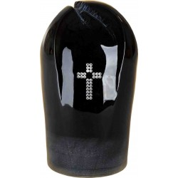 Catholic Ceramic Funeral Cremation Ashes Urn with Swarovski Crystals for Adult (906)