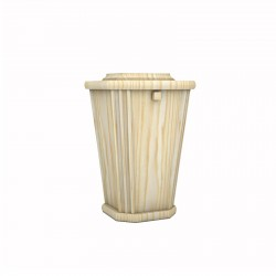 Pine Lantern Shape Wood Funeral Cremation Ashes Urn for Adult (226)
