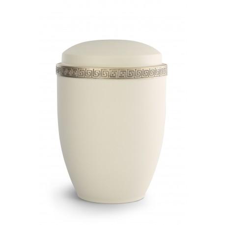 Steel, velvet crème , Meander Band antique gold Exclusiv Series Athena (372078)