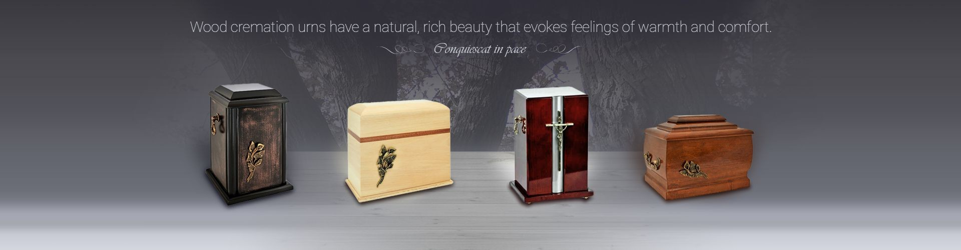 Wood cremation urns have a natural, rich beauty that evokes feelings of warmth and comfort