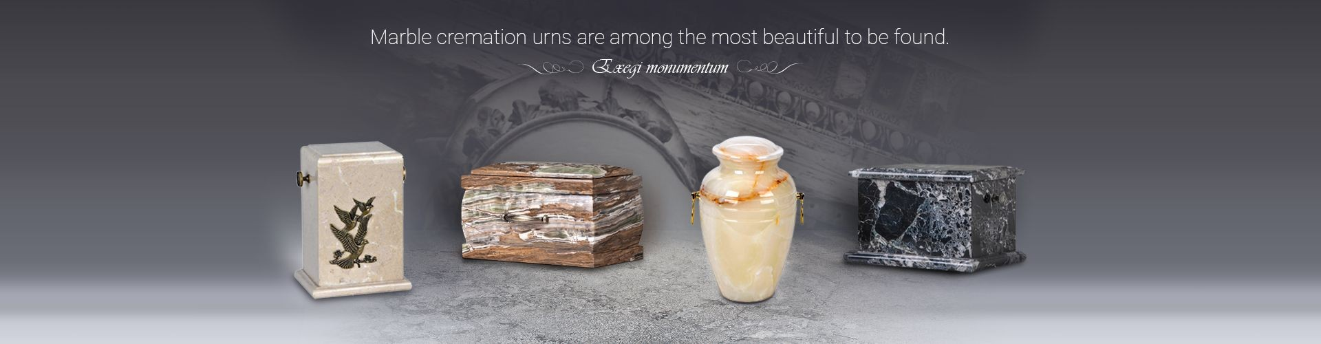 Marble cremation urns are among the most beautiful to be found